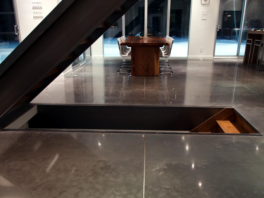 polissage diamantaire de plancher sur une dalle de b ton. Black Bedroom Furniture Sets. Home Design Ideas