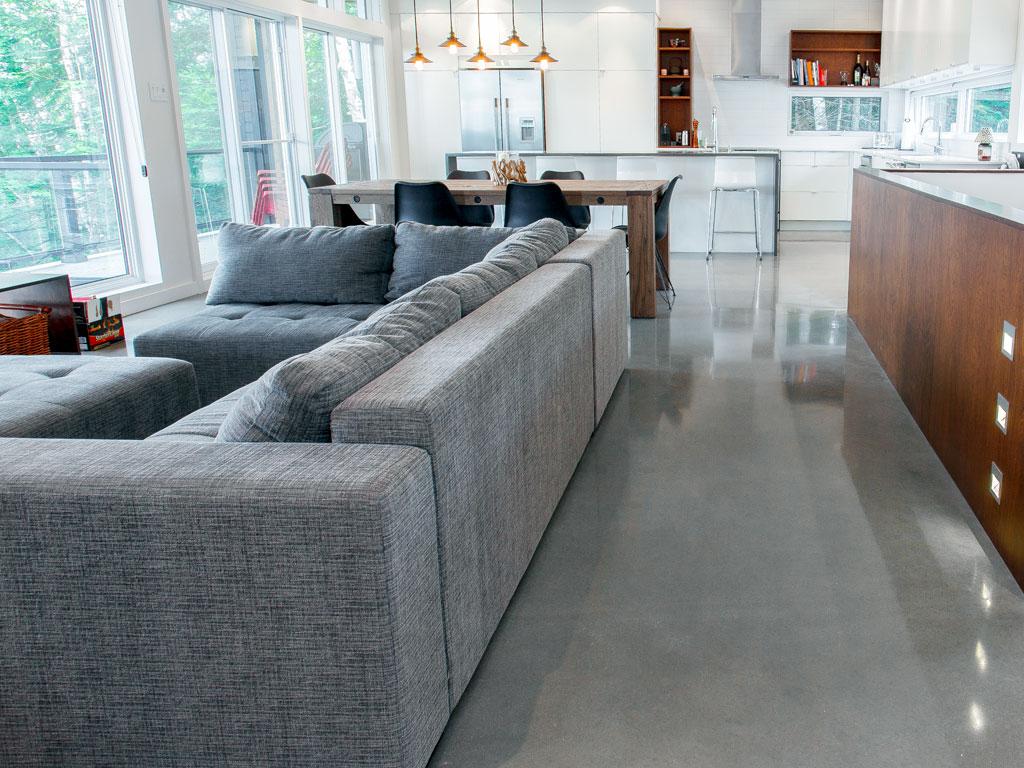 meulage de dalle de b ton teint dans la masse concept b ton design. Black Bedroom Furniture Sets. Home Design Ideas